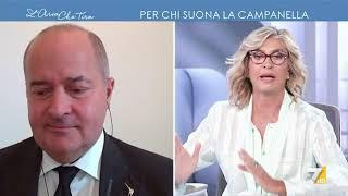 Myrta Merlino a Dario Galli: