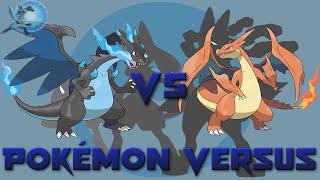Mega Charizard X VS Mega Charizard Y | Pokémon Versus