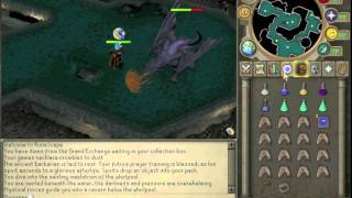 RuneScape Mithril Dragons and Chewed Bones Burning Guide to Dragon Full Helm Commentary - Sliverfas