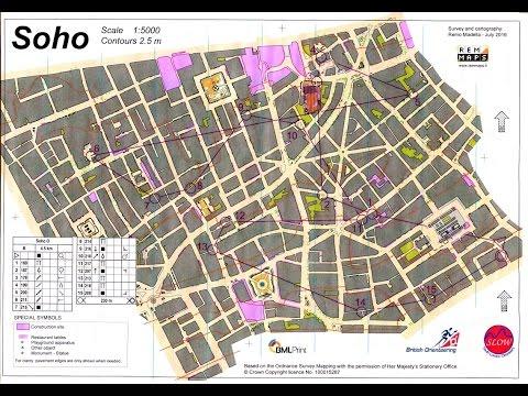 London City Race 2016 - Soho Sprint Orienteering event 11 September 2016