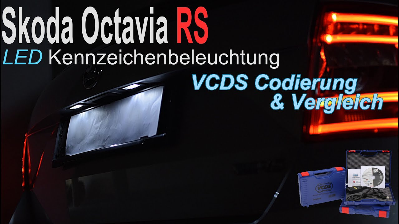 skoda octavia rs led kennzeichenbeleuchtung vcds. Black Bedroom Furniture Sets. Home Design Ideas