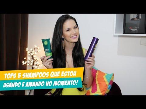 TOP 5 SHAMPOOs QUE ESTOU USANDO E AMANDO NO MOMENTO! por Julia Doorman