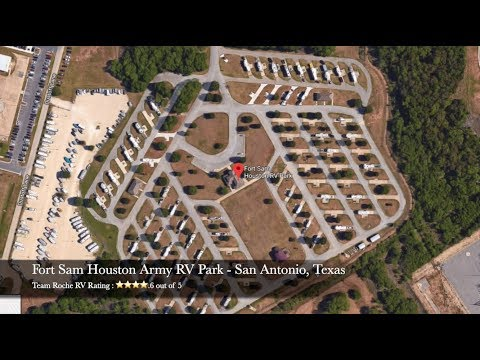 Fort Sam Houston RV Park - San Antonio, Texas