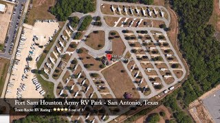 Fort Sam Houston RV Park - San Antonio, Texas