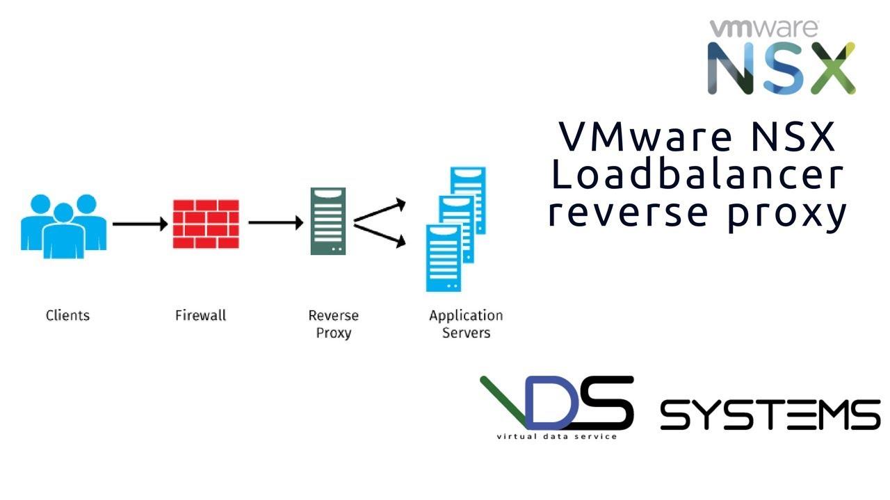 NSX load balancer reverse proxy