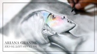 Baixar Ariana Grande - No Tears Left To Cry (Official Art Video) - Drawing Ariana Grande