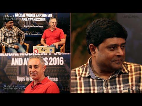 """""""michael talks tech"""" with Venkatesh CR, Founder at GMASA Bangkok 2016"""