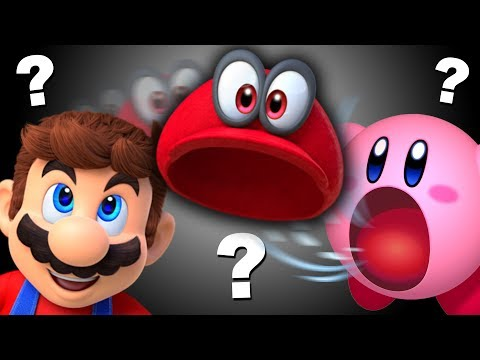 What if Mario threw his hat at Kirby?