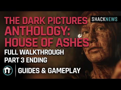 The Dark Pictures Anthology: House of Ashes - Full Walkthrough Part 3 Ending