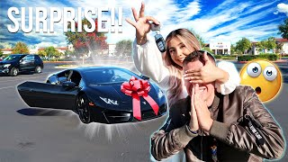 SURPRISING MY BOYFRIEND HIS DREAM LAMBORGHINI!!! *HE HAD NO IDEA*