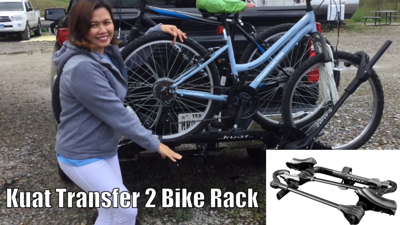 unboxing kuat transfer 2 bike rack black review