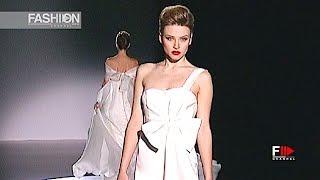 JUANJO OLIVA Gaudì Novias Spring Summer 2010   Fashion Channel