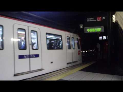 Transports Metropolitans de Barcelona - 6000 saliendo de Espanya
