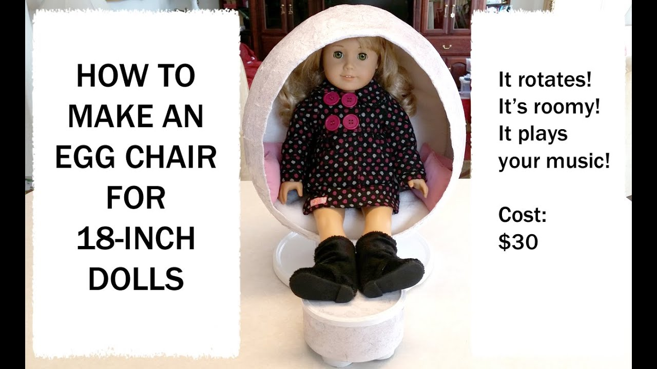 How To Make AG Julies Egg Chair HD