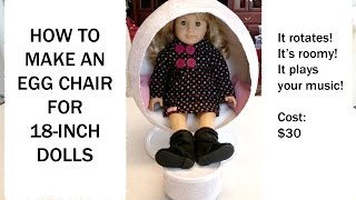 How To Make Ag Julie's Egg Chair (hd)