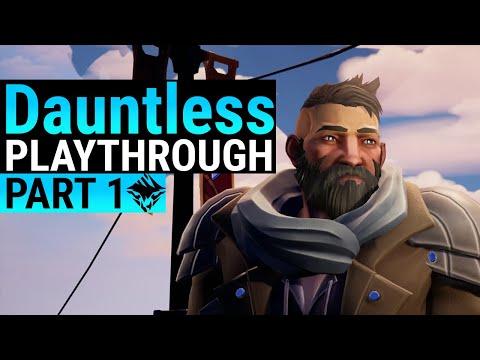 Dauntless Beginner Guide - Part 1 - From start to Unlocking