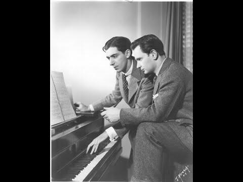 Sidney Foster plays Dello Joio Piano Sonata No. 1.  Live performance, 3/29/1955.
