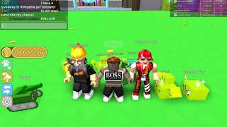 "ROBLOX| Who win the giveaway prize: 3 eggs tier 12 in minigame ""Pet Simulator"" JOIN NOW"