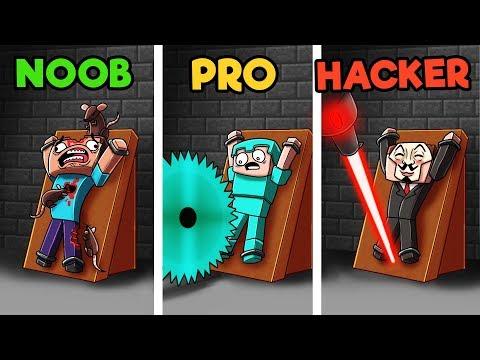 Minecraft - 10 WAYS TO KILL A NOOB! (NOOB vs PRO vs HACKER)