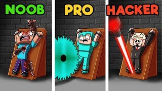 Minecraft - 10 WAYS TO KILL A NOOB! (NOOB vs PRO vs HACKER)