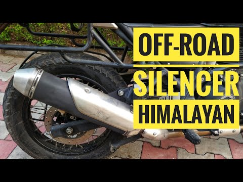 Royal Enfield Off-road Free Flow Performance Exhaust For Himalayan