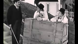 ローレル&ハーディ日本語字幕『極楽ピアノ騒動』(THE MUSIC BOX 1932)