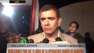 Reacciones tras los 15 años de la operación Chavín de Huántar