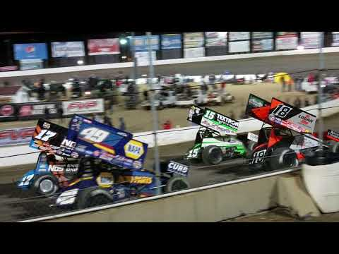 World of Outlaws at I-55 | April 21st 2018 | 4 wide salute