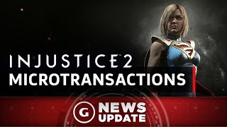 Injustice 2 Microtransactions Revealed - GS News Update