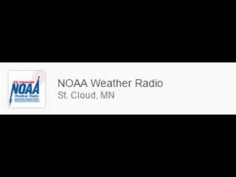 NOAA Weather Radio - Required Weekly Test St. Cloud / Clearwater WNG676