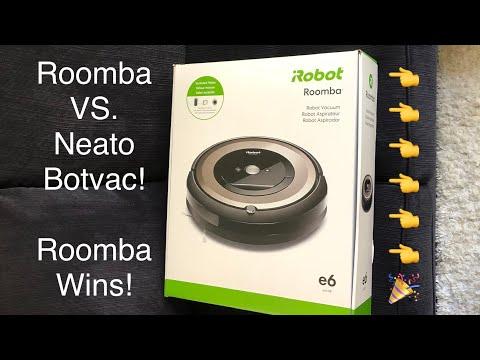 ROOMBA e6 VS. Neato Botvac - Roomba unboxing!