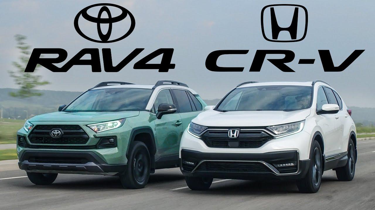 BEST SELLERS! 2021 Honda CR-V vs Toyota RAV4 Review