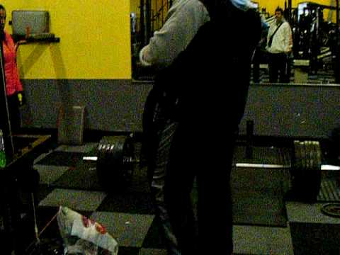 Matt Craven - 260kg deadlift - Atlas Gym Milton Keynes no 1 gym