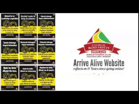 Radio advert for ArriveAlive.co.za donated by James Olivier