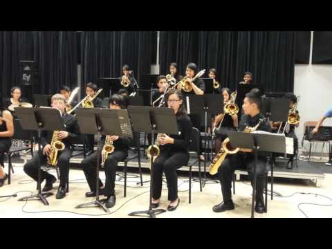 Itliong Vera Cruz Middle School Jazz Band Jaw Dropping perform at Jazz Festival 3.19.2016
