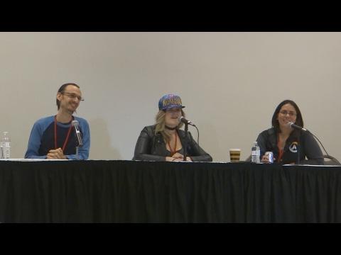 Anime Milwaukee 2017 (Panel): Erica Lindbeck AMA -Ft Erica Mendez & Lucien Dodge-