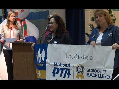 Woodmen Hills Elementary School Celebrates National PTA School of Excellence Award