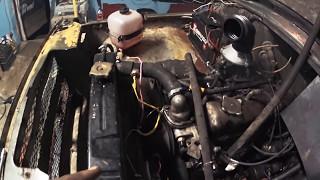Перенос и замена агрегатов на БомбическомУазе