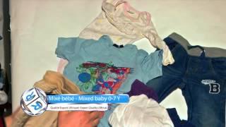 Rakitex - Mixé bébé , Mixed baby rummage 0 7 y (Qualité export Afrique ,Export quality Africa )