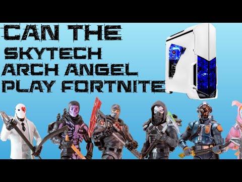 SkyTech Archangel Ryzen 3 1200 & GTX 1050Ti Fortnite FPS TEST
