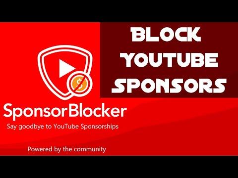SponsorBlocks Browser AddOn avoids Youtube Sponsoring blocks! (Edge / Firefox / Chrome / Opera)