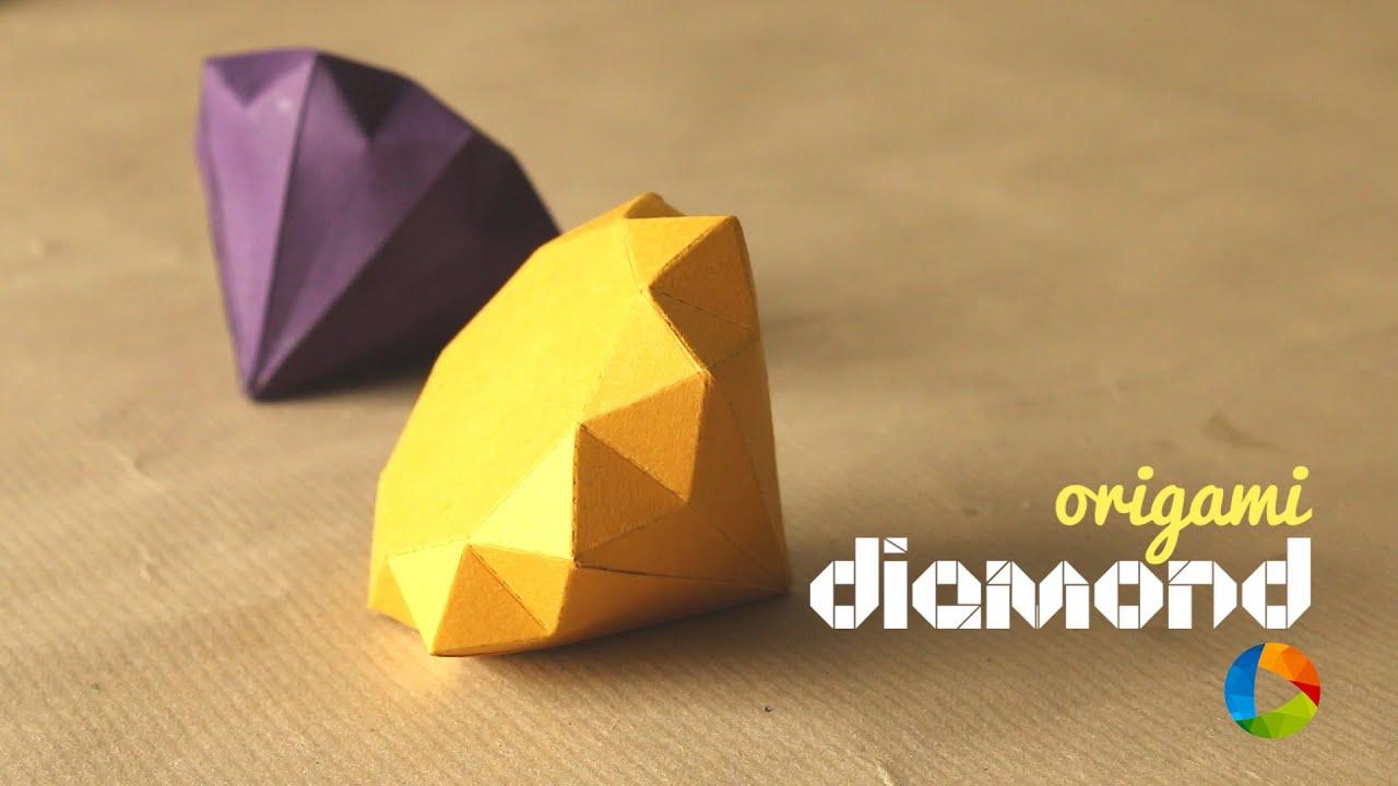 How To Make DIY Origami Diamond