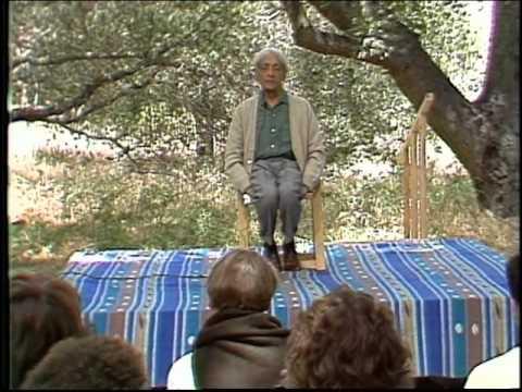 J. Krishnamurti - Beyond Myth & Tradition 6 - Meditation