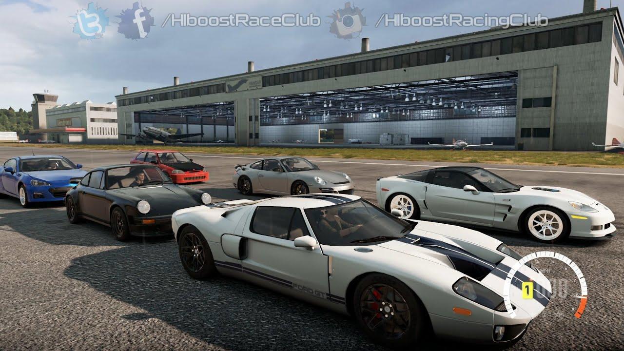 Forza Horizon  Xb Fhk Meet Pt  Tt Ford Gt Build Show N Shine Rolls Digs More