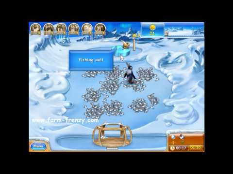Farm Frenzy 3 Ice Age Game Level 1