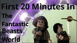 First 20 Minutes In The Lego Dimensions Fantastic Beasts World