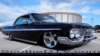 1961 Chevrolet Impala Bubble Top Hot Rod Cruisin' The Coast 2017