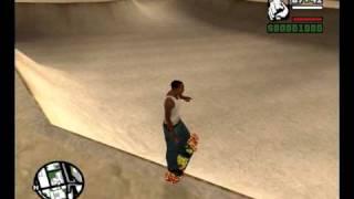 GTA SA Skateboard mod (Beta2)