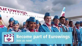 Werde Teil unserer Crew - als Flugbegleiter/in bei Eurowings!