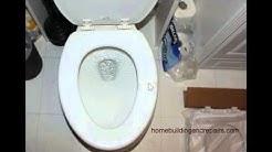 Use Tape As Temporary Toilet Seat Crack Repair